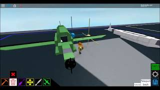 How to make a military RTF in Roblox Plane Crazy
