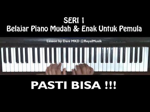 Belajar Piano Mudah Dan Enak Untuk Pemula Cara Bermain Simpel Tapi Keren Youtube