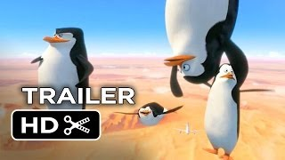 Penguins of Madagascar TRAILER 1 (2014) Benedict Cumberbatch Animated Movie HD
