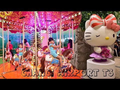 """Changi Airport Singapore - """"Changi Loves Kids"""" Carnival at T3 (31 Aug to 8 Oct 2017)"""