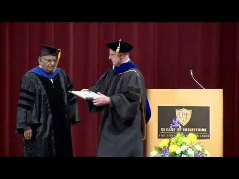 The University of Toledo College of Engineering Spring 2015 Graduate Commencement