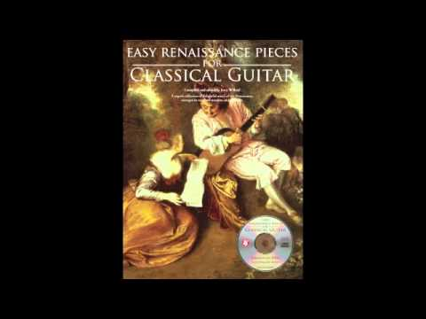 Easy Renaissance Pieces for Classical Guitar by Jerry Willard