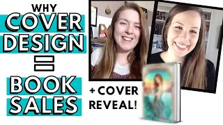 How BOOK COVER DESIGN Sells Books + COVER REVEAL for The Jinni Key!