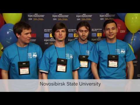 All teams from 2017 ICPC World Finals