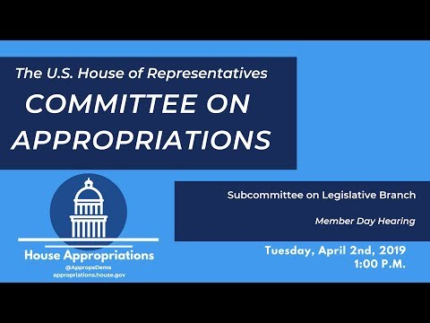 Legislative Branch Members Days Hearing (EventID=109211)