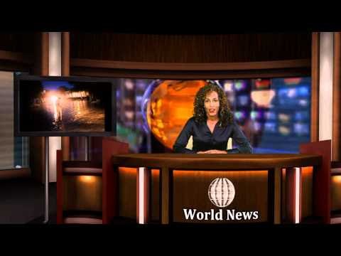 Virtual Studio Demonstration Monarch Virtuoso 2000 HD (Evening News Segment)