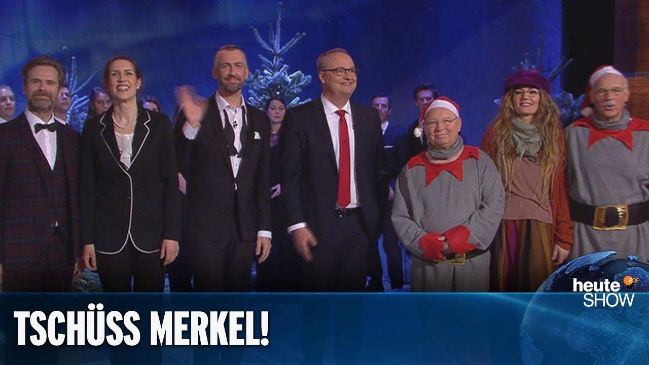Heute Show Merkel