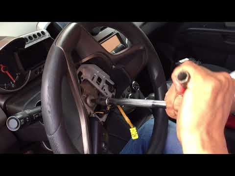 Quitar Volante Y Airbag De Chevrolet Sonic En 6 Minutos. Remove Steering Wheel