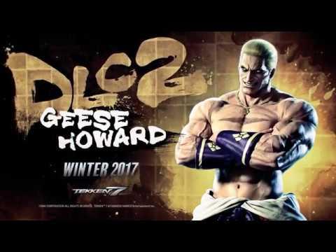 GEESE HOWARD REVEALED: Tekken 7 DLC Trailer