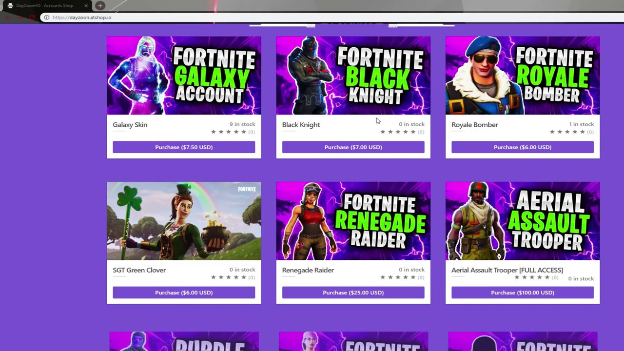 Selly Gg Fortnite Accounts Videos 9tube Tv