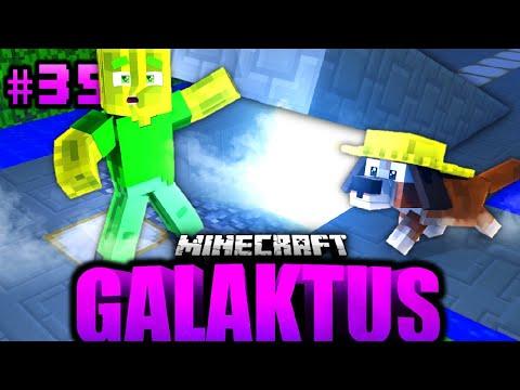 Das GEHEIMNIS unter MEINEM HAUS...?! - Minecraft GALAKTUS #35 [Deutsch/HD]
