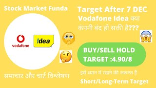 IS VODAFONE IDEA SHUTDOWN??? | VODAFONE IDEA SHARE LATEST NEWS |SHARE TARGET AFTER 7 DEC | BUY SELL