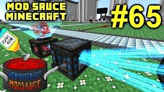 Minecraft Mod Sauce Ep. 65 - Modular ForceField System !!! ( HermitCraft Modded Minecraft )