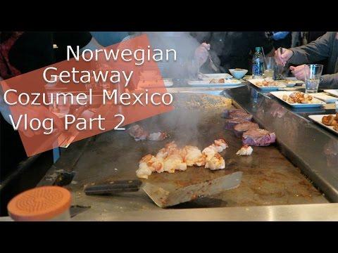 Norwegian Getaway Cruise Vlog | Cozumel Mexico Part 2