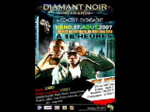 Diamant noir concert venement