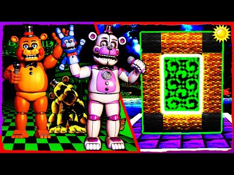 Thumbnail: Minecraft FNAF - How to Make a Portal to the FREDDY DIMENSION
