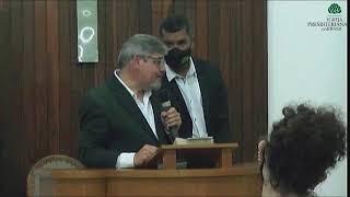 Culto Noite  - Domingo 25/04/21 - Rev. Mizael Laureano - Santa Ceia
