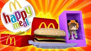 BABY ARIANA BECOMES A HAPPY MEAL TOY!! w/Little Carly (Minecraft Custom Roleplay)