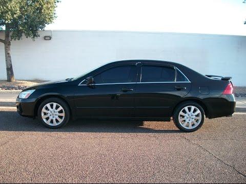 2007 Honda Accord V6 AT LX SE Loaded Rear Spoiler 6 Disc PR1156