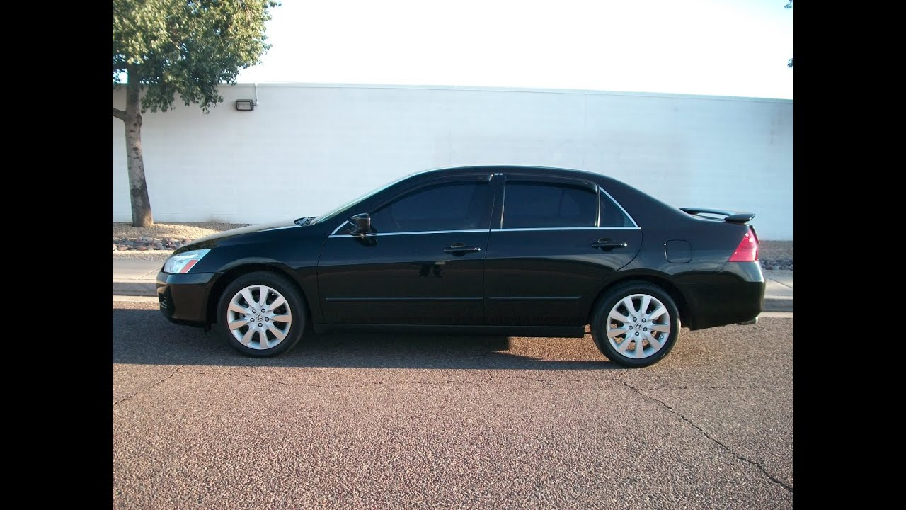 2007 honda accord v6 at lx se loaded rear spoiler 6 disc. Black Bedroom Furniture Sets. Home Design Ideas