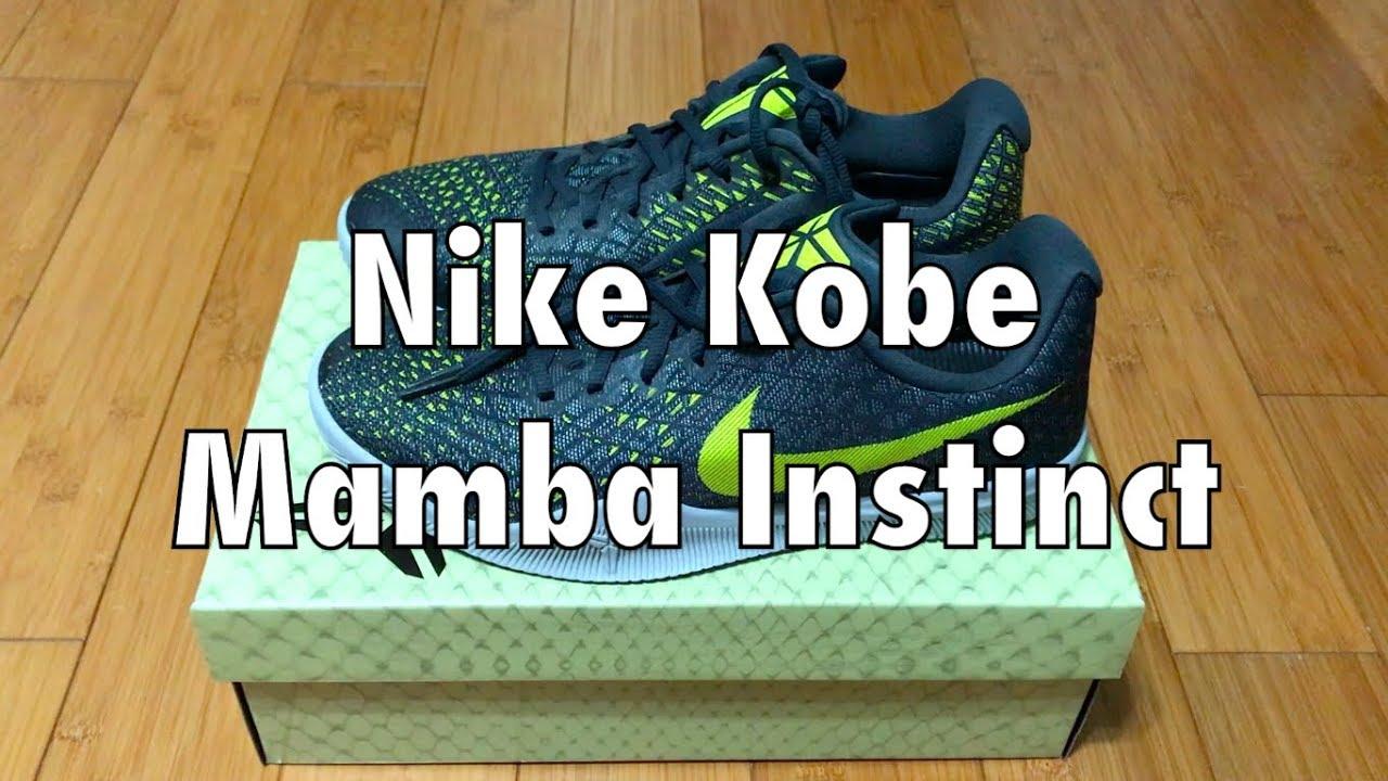 c1dca6749b2 Nike Kobe Mamba Instinct - Dust/Electrolime/Pure Platinum/Anthracite ...