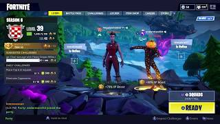 Fortnite New Unreleased Halloween Skins - Emotes!! (Dans la session de jeu!)