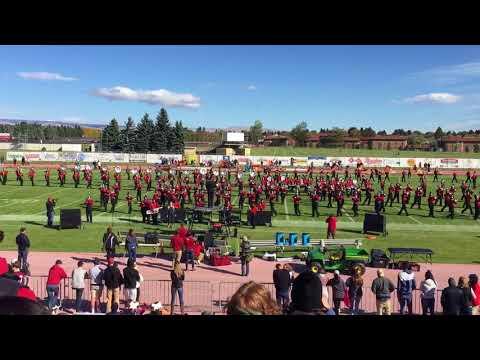Burn and Fireball - CWU Marching Band 2017