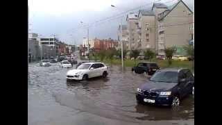 Потоп в Казани 3 сентября 2013 часть1