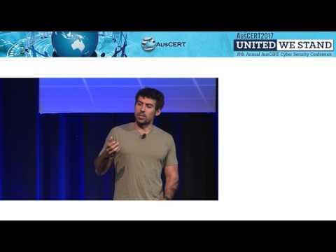 AusCERT2017 Day 2 Samy Kamkar: The Less Hacked Path