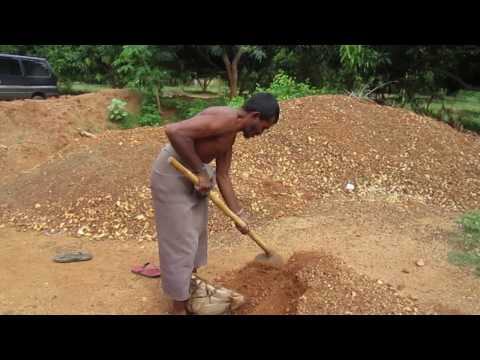 Surface Sapphire Mining in Southern Sri Lanka (1 of 3)