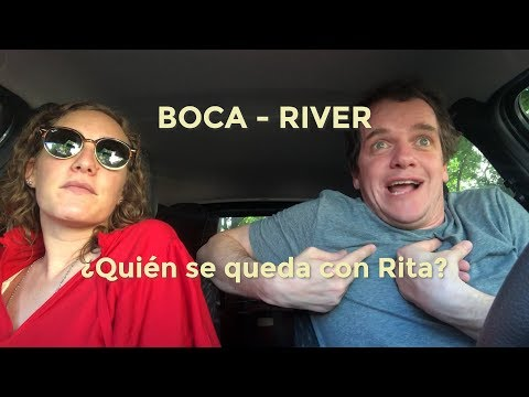 BOCA vs RIVER -- QUIÉN SE QUEDA CON RITA?