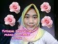 Tutorial daily hijab,  Segiempat 5 style mudah dan simple