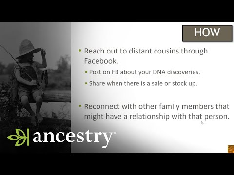 AncestryDNA:  How to Invite Others to Test and How it Helps You