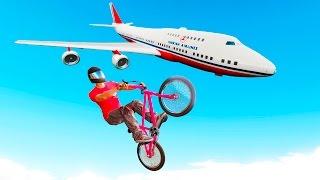 GTA 5 ТРЮКИ - КАК НАУЧИТЬСЯ ЛЕТАТЬ НА ВЕЛОСИПЕДЕ BMX В ГТА 5 - ОБУЧЕНИЕ ГЛАЙДУ(Туториал по глайду на велосипеде прямо в онлайне с игроками, удиви всех!) ----------------------------------------------------------------..., 2016-10-17T07:05:18.000Z)