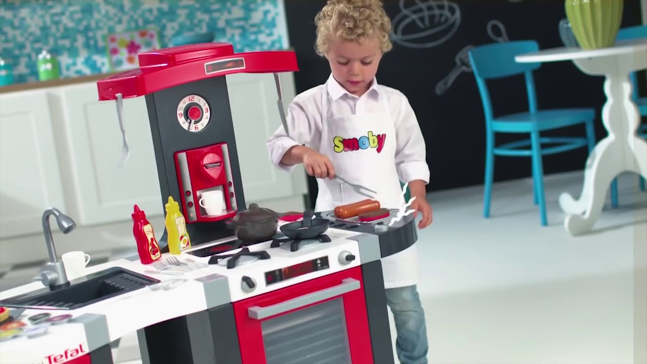 Smoby Küche Bubble | Tefal French Touch Bubble Kuche Smoby 311201 De Youtube
