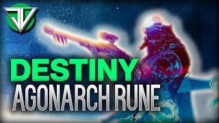 Destiny - How To INSTANTLY Charge Your Agonarch Rune in The Taken King! (Destiny Tips & Tricks)
