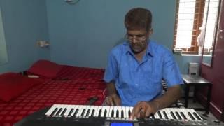 chella kutty, theri on keyboard with karaoke