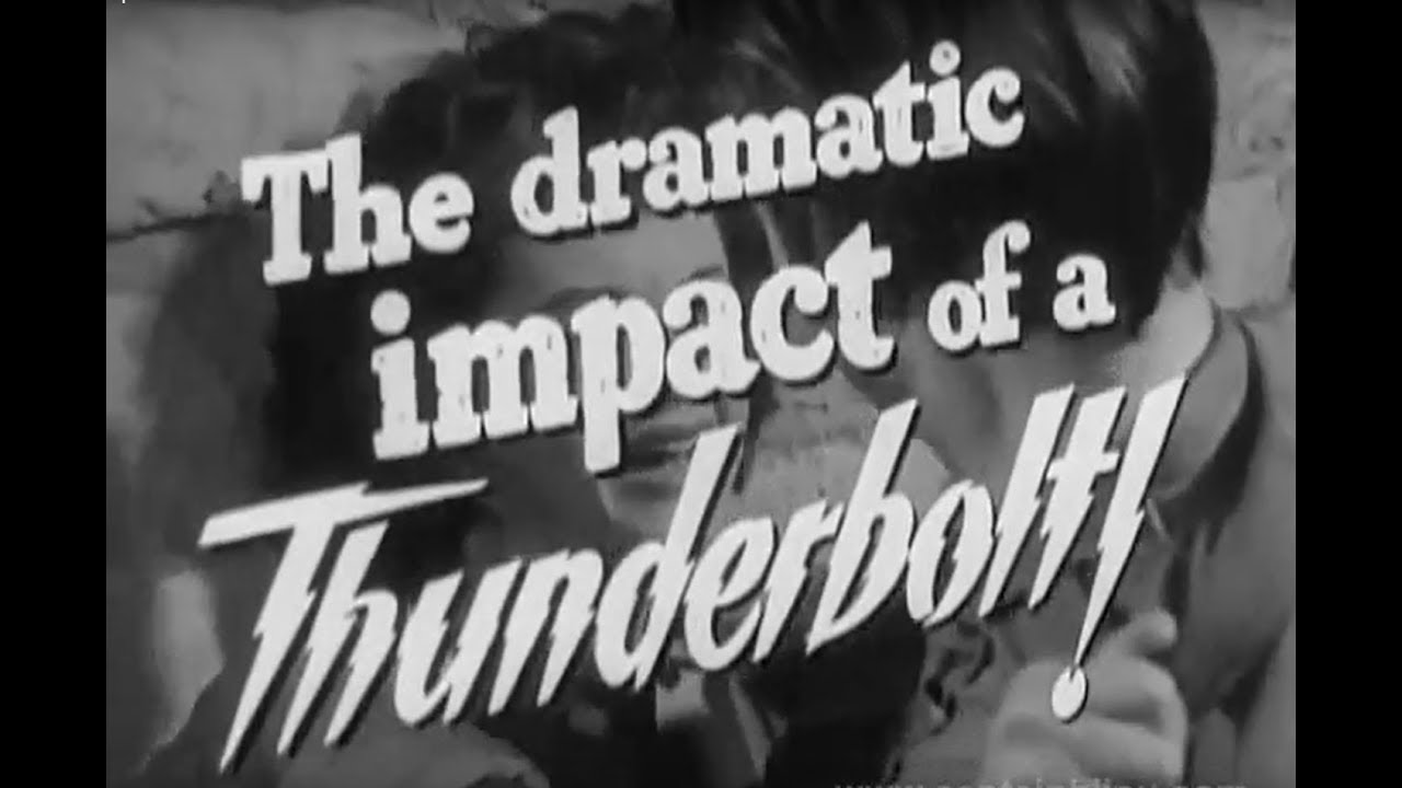 1951 RAWHIDE - Trailer - Tyrone Power, Susan Hayward