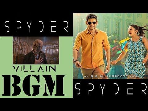 SPYDER BGM | Bhiravudu Villain Stunning Back Ground Music | SJ Surya | Mahesh Babu