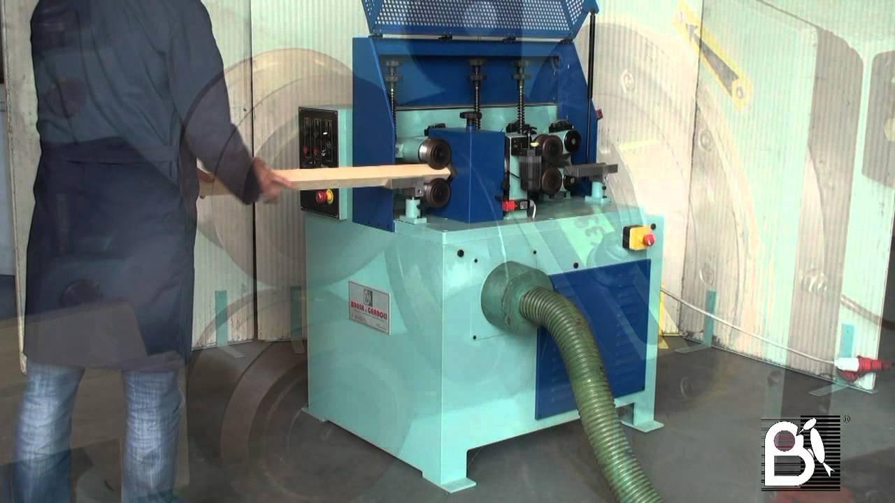Wood Rod Rounding Machine Type Tv45 Youtube