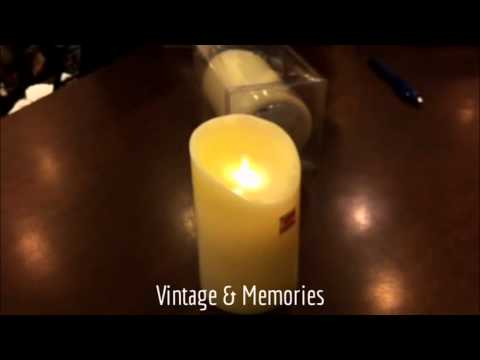 The Most Realistic Flameless LED Candles by Vintage & Memories