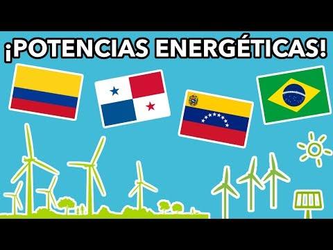 PAÍSES CON MÁS ENERGÍA RENOVABLE DE AMÉRICA LATINA