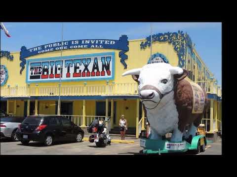 Route 66 Historic Amarillo Texas