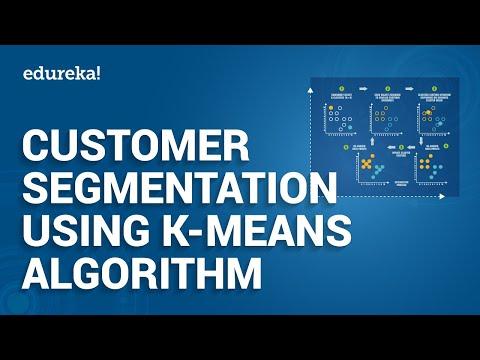 Customer Segmentation Tutorial | Python Projects | K-Means Algorithm | Python Training |  Edureka