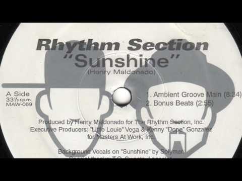 Rhythm Section - Sunshine - Maw Records