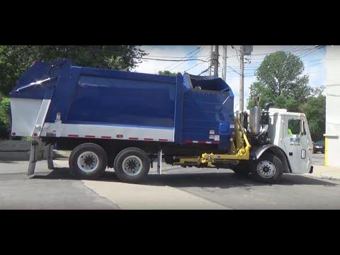 Casella Waste Services/Big Truck Rental ~ Mack LEU Heil Durapack Python