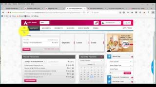 First time Generating Pin for Axis Bank Credit Card Part 2