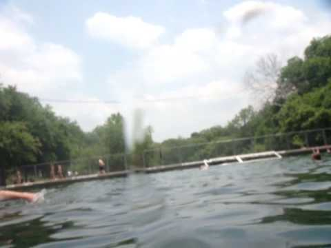 Swimming the length of barton springs pool underwater - How far is 50 lengths of a swimming pool ...