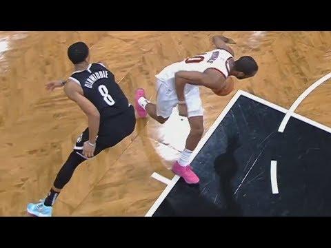 Alec Burks Game Winner! Dunk 3.2 Secs Left vs Nets! 2018-19 NBA Season
