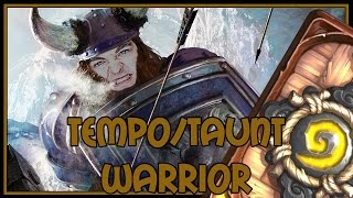 Hearthstone: Lets try tempo warrior (tempo/taunt warrior)